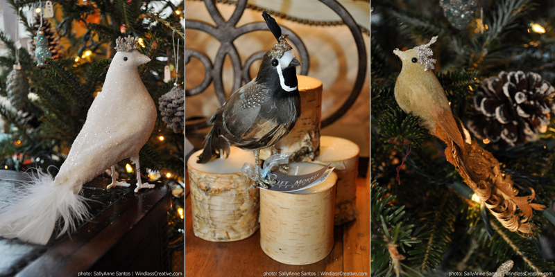 Birds of A Feather- Swift Morris Interiors Holiday Decor 2012
