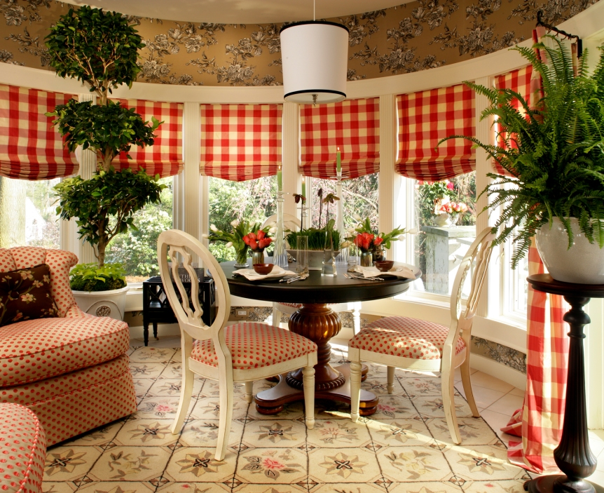Showhouse Breakfast Nook ~ Englewood, NJ