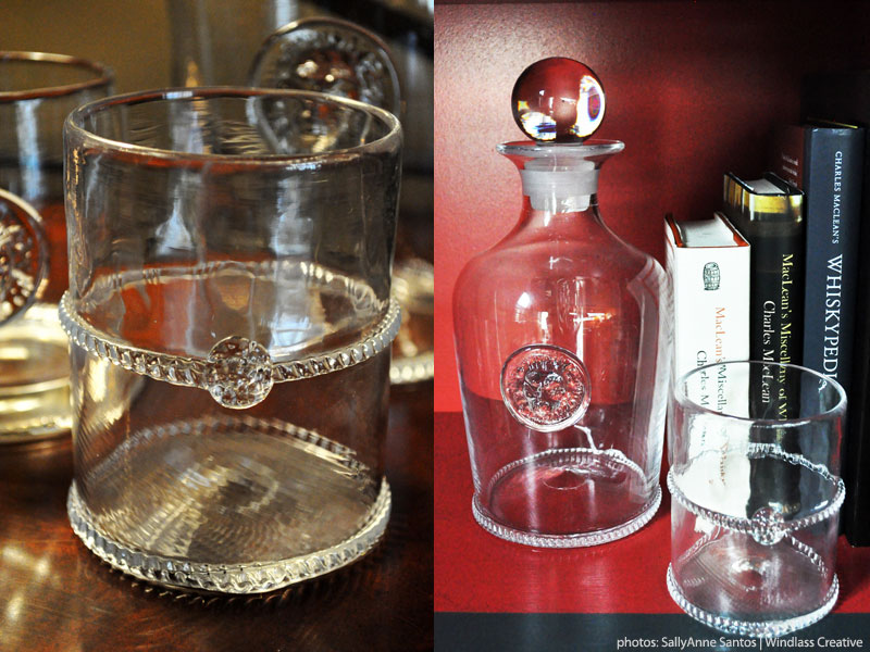 Juliska Decanter and Rocks Glass