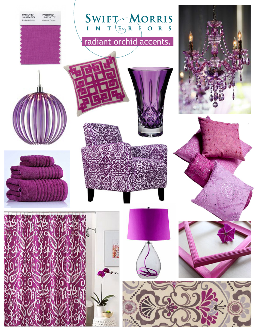 Radiant Orchid Design Board