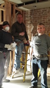 THE BLOOMFIELD PROJECT: HAPPY SHEETROCK-ING