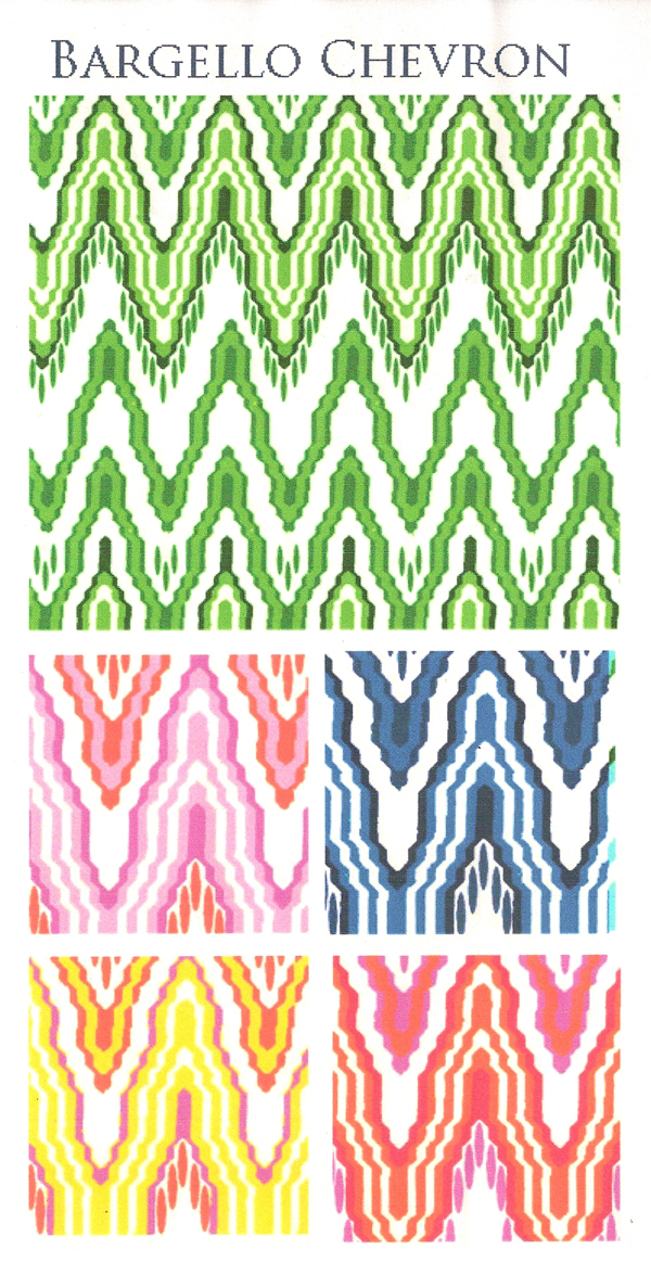 BARGELLO CHEVRON