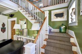 Swift-Morris Interior design, Everett Street, Newport, RI ~ photo by: Francesco Sapienza